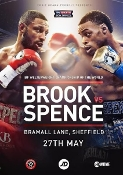 Errol Spence Jr. vs. Kell Brook HD Blu-Ray