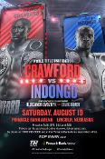 Terence Crawford vs. Julius Indongo HD Blu-Ray
