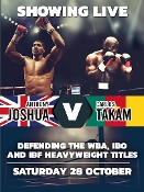 Anthony Joshua vs. Carlos Takam HD Blu-Ray