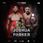 Anthony Joshua vs. Joseph Parker HD Blu-Ray