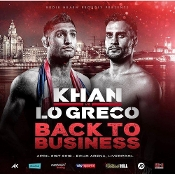 Amir Khan vs. Phil Lo Greco HD Blu-Ray