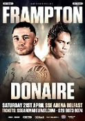 Carl Frampton vs. Nonito Donaire HD Blu-Ray