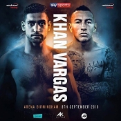 Amir Khan vs. Samuel Vargas HD Blu-Ray