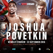 Anthony Joshua vs. Alexander Povetkin HD Blu-Ray