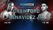 Terence Crawford vs. Jose Benavidez Jr. HD Blu-Ray