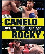 Canelo Alvarez vs. Rocky Fielding HD Blu-Ray