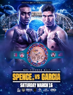 Errol Spence Jr. vs. Mikey Garcia HD Blu-Ray