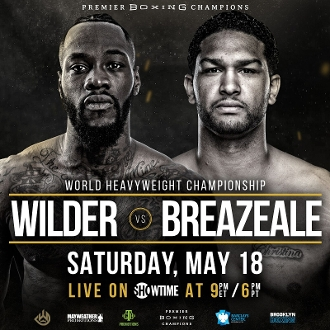 Deontay Wilder vs. Dominic Breazeale HD Blu-Ray