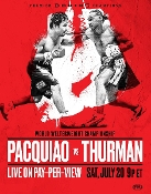 Manny Pacquiao vs. Keith Thurman HD Blu-Ray