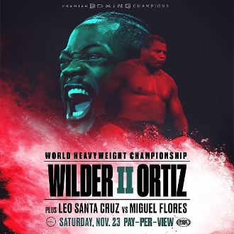 Deontay Wilder vs. Luis Ortiz II HD Blu-Ray