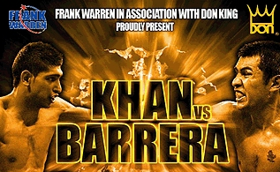 Amir Khan vs. Marco Antonio Barrera HD Blu-Ray